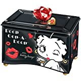 Betty Boop Mirror Music Glass Box - Handcrafted - Plays ''Always In My Heart''