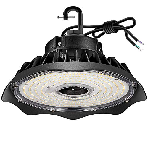 Anten LED Hallenstrahler 150W 20000Lumen 5000 Kelvin, Schutzklasse IP65 Hallenleuchte, 1~10V Dimmbar LED Strahler, AC100…