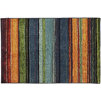 Mohawk Home New Wave Rainbow Printed Rug, 2'6x3'10, Multicolor