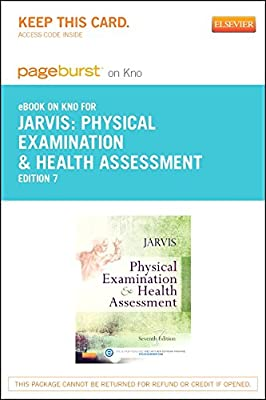 Physical Examination and Health Assessment - Elsevier eBook on Intel Education Study (Retail Access Card), 7e