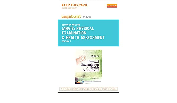 Physical examination and health assessment elsevier ebook on intel physical examination and health assessment elsevier ebook on intel education study retail access card 7e 9780323265355 medicine health science fandeluxe Images