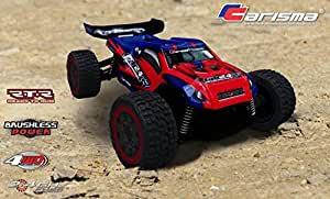 CARISMA GT24TR(Red) RTR 1/24th Brushless 4WD Radio Control Truggy with LiPo Battery