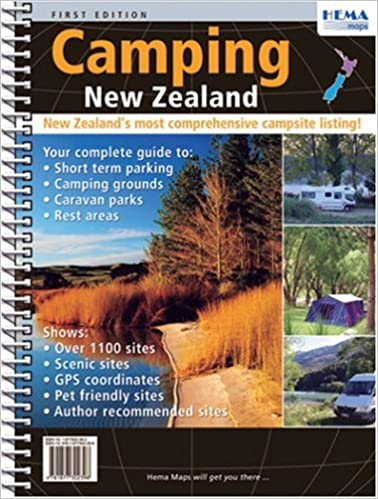 New Zealand Camping Atlas Hema 9781877302398 Amazon Books