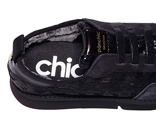 Donna Ai18 Black P05d Panchic Bas130555 Scarpe Polacco 6xwYOnqES