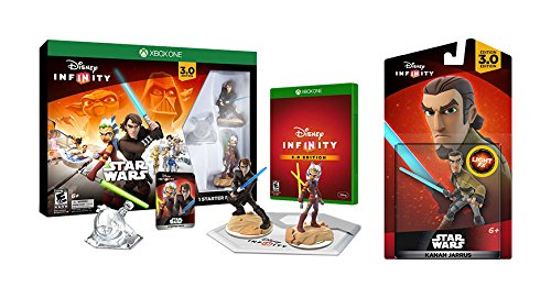 Disney Infinity 3.0 Edition Starter Pack Bundle - Amazon Exclusive - Xbox One by Disney Infinity