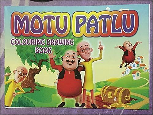 Amazon In Buy Motu Patlu Colour Drawing Book Book Online At Low