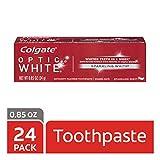 Colgate Optic White Whitening Toothpaste, Sparkling White - 0.85...