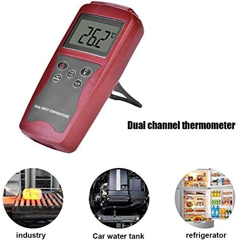 DT821A Backlit LCD Display Type K Digital Sensor Thermocouple Thermometer Temperature Meter Tester