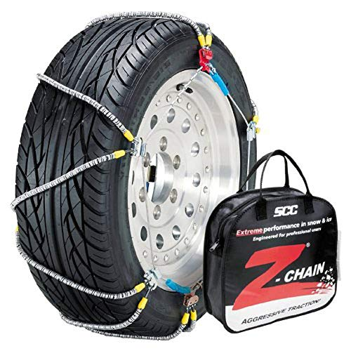 (Security Chain Company Z-547 Z-Chain Extreme Performance Cable Tire Traction Chain - Set of 2)
