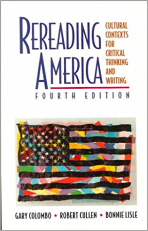introduction to rereading america Looking for work by gary soto captures everyone dreams in american the dream of living in a beautiful house in a suburb, with green grass, 2 cars in the drive way and a white picket fence out front.