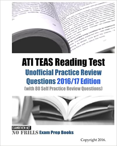 ATI TEAS Reading Test Unofficial Practice Review Questions