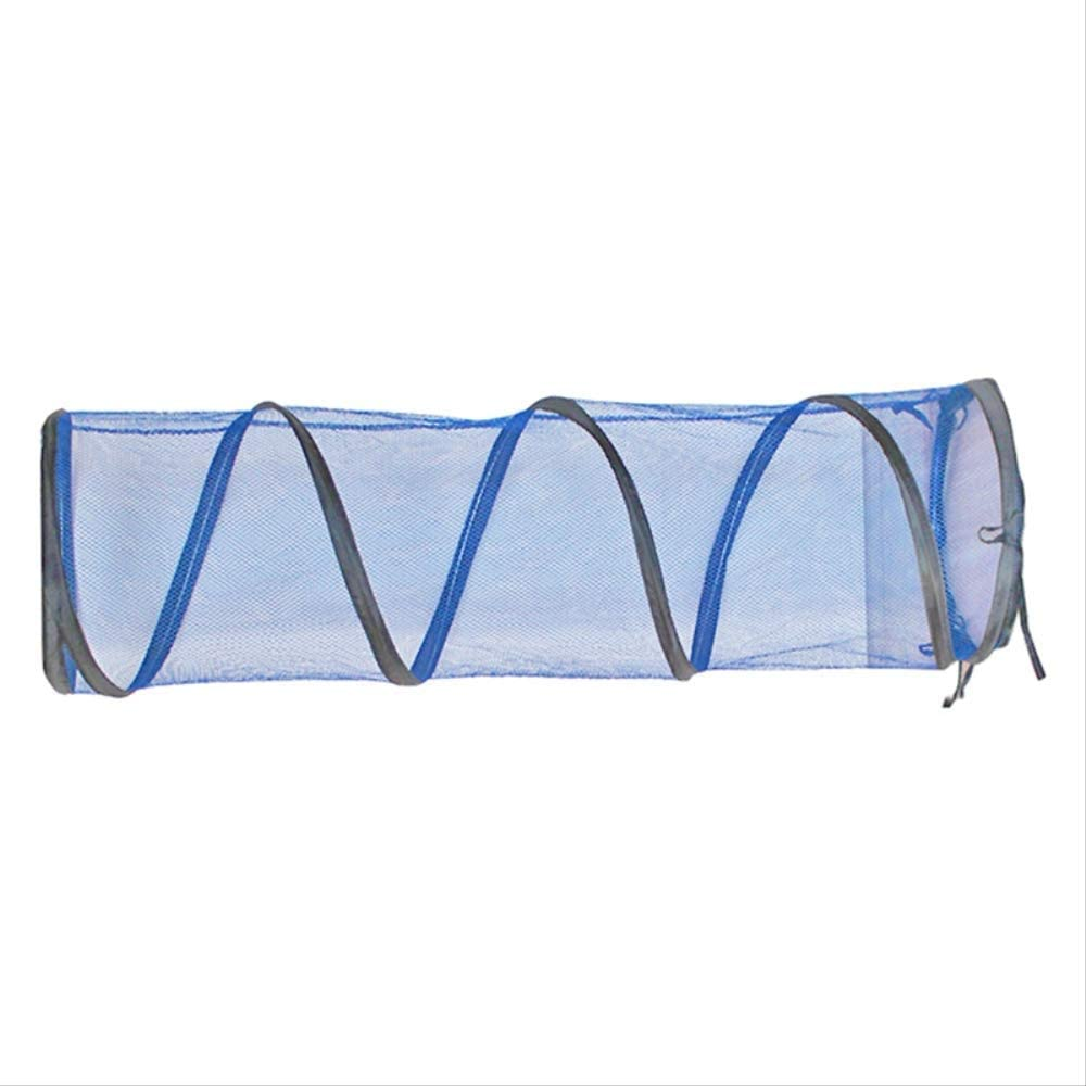 Can Be Spliced and Lengthened Zipper Design Foldable Outdoor Cat Tunnel Tent Playground WLLBT Cat Net Tunnel Toy