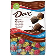 DOVE PROMISES Chocolate Candy Variety Mix, Great For Easter Gift Baskets, 43.07-Ounce Bag 150 Pieces