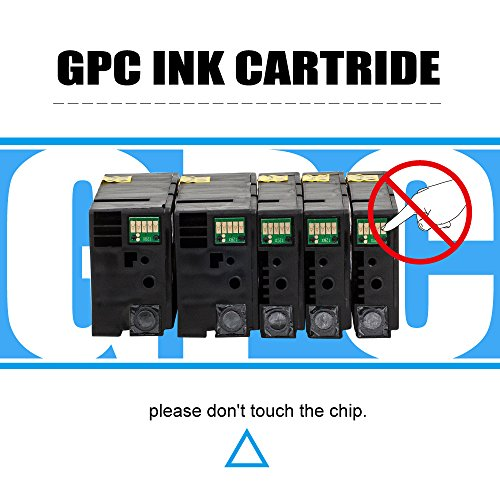 GPC Image 1200XL 5 Pack Compatible Ink Cartridge Replacement for Canon PGI-1200XL PGI-1200 XL for Canon MAXIFY MB2720 MB2320 MB2020 MB2050 MB2350 Printer (2 Black, 1 Cyan, 1 Magenta, 1 Yellow) Photo #8