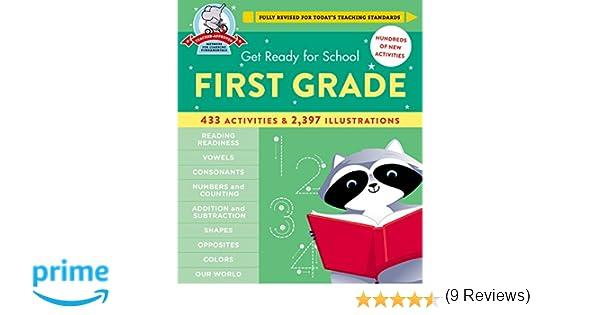 Get Ready for School: First Grade: Heather Stella: 9780316352284 ...
