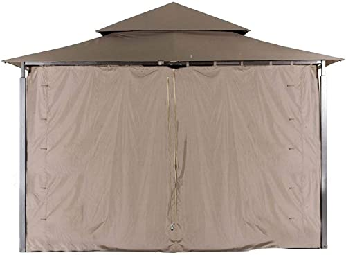 ABCCANOPY L-GZ136PST Gazebo Replacement Privacy Wall for 10 x10 Gazebo Brown