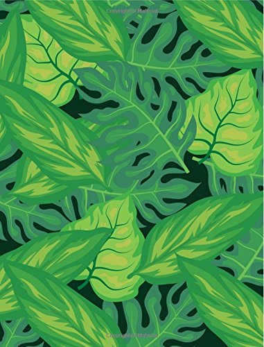 Read Online Journal: Tropical Leaves Graph Paper Notebook (200 Pages) (7.44 x 9.69 inches) ebook