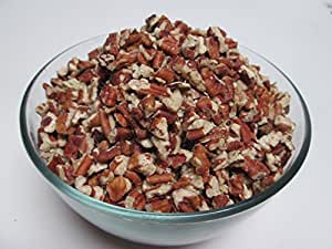 Organic Raw Pecans-Medium Pieces, 16 oz bag, US Organic Product