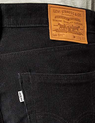 Slim 2 Nero Uomo B 3257 Warp mineral Cord Black 14w 511 Jeans Levi's Str Wt xwOqBZF