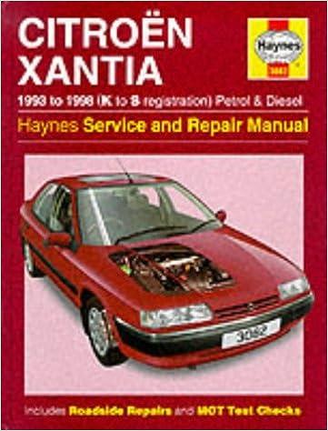 Citroen Xantia 1993-98 Service and Repair Manual Haynes Service and Repair Manuals: Amazon.es: Steve Rendle, A. K. Legg, R. M. Jex: Libros en idiomas ...