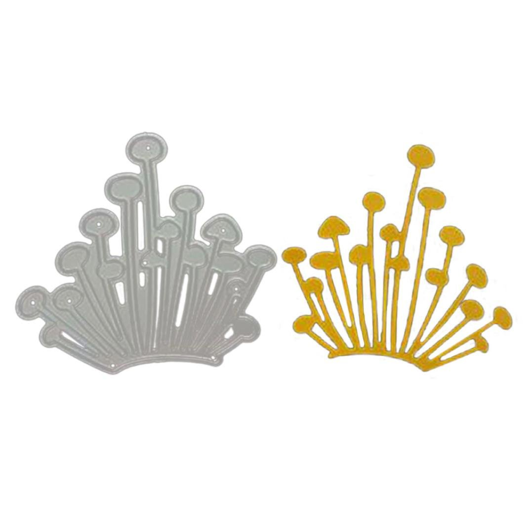 Newest Arrivals! Metal Cutting Dies Icey Embossing Stencil Template for DIY Scrapbooking Album Paper Card Craft Decoration by E-Scenery (H) by E-SCENERY Cutting Dies (Image #1)