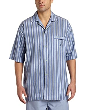 Men's Sultan Stripe Woven Pajama Top
