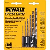 DEWALT DW2551 6 Piece 1/16-Inch to 1/4-Inch Hex Shank Twist...