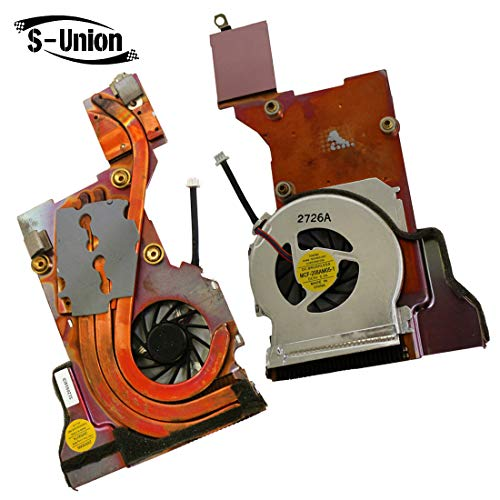 S-Union Replacement Laptop CPU Cooling Fan for Lenovo ThinkPad T40 T40P T41 T41P T42 T42P T43 T43P Series P/N: HY55H-05A MCF-208AM05-1