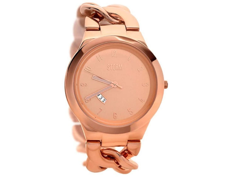 Storm Damen-Armbanduhr Analog edelstahl Rotgold 47215RG