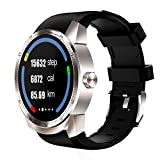 Walmeck K98H 3G Smart Watch Phone Dual Core Android 4.1 IPS 1.3'' 240240P Anti- scratching Display 4GB ROM+ 512MB RAM Heart Rate Sleep Monitor Intelligent Reminder Anti-lost GPS Magnetic Charging