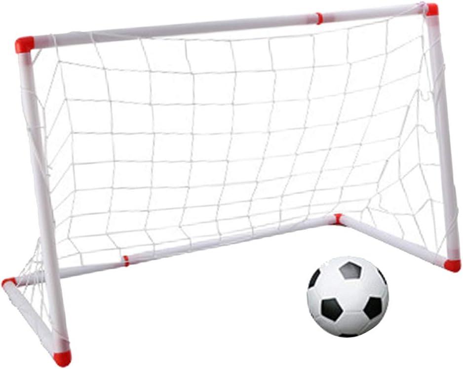 Homyl Mini Portería de Fútbol con Balón Inflable Juguete de ...