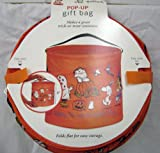 Hallmark Halloween HGB142 Peanuts Pop-Up Polyester Trick Or Treat Bag