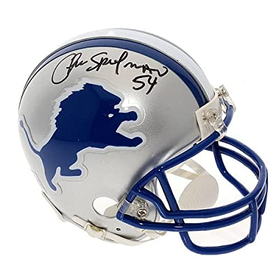 Chris Spielman Autographed Detroit Lions Mini Helmet - Certified Authentic