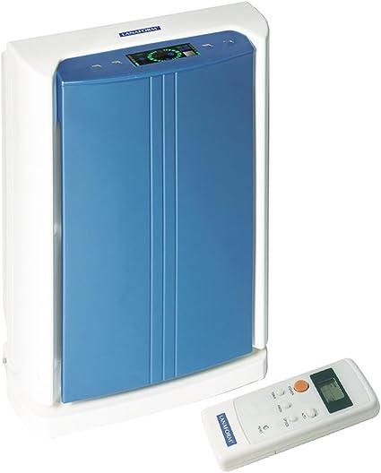 LANAFORM Full Tech - Purificador de aire (Azul, Color blanco, LCD ...