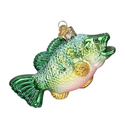 Christmas Decorations Largemouth Bass Glass Blown Ornaments for - Ornament Snoopy Glass