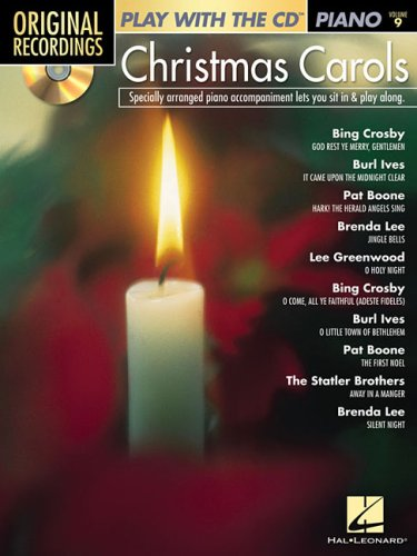 Read Online Play with the CD: Christmas Carols - Piano (Original Recordings: Play With the CD Piano) PDF