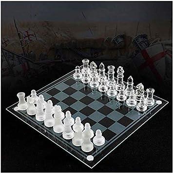 AK Ajedrez magnético K9 Ajedrez de vidrio Juego de ajedrez elegante Lucha mediana Embalaje Juego de ajedrez internacional Tablero de vidrio Juego de ajedrez Juego de ajedrez,si: Amazon.es: Bricolaje y herramientas