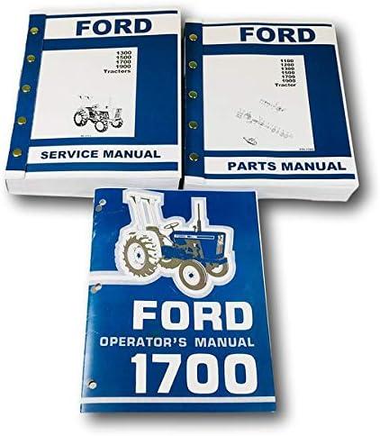 [SCHEMATICS_48IU]  Amazon.com: Ford 1700 Tractor Service Parts Operators Manual Owners Repair  Catalog Set: Automotive | 1984 Ford Tractor 1700 Wiring Diagram |  | Amazon.com