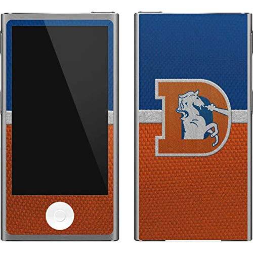 Skinit NFL Denver Broncos iPod Nano (7th Gen&2012) Skin - Denver Broncos Vintage Design - Ultra Thin, Lightweight Vinyl Decal Protection - Denver Broncos Nfl Nano
