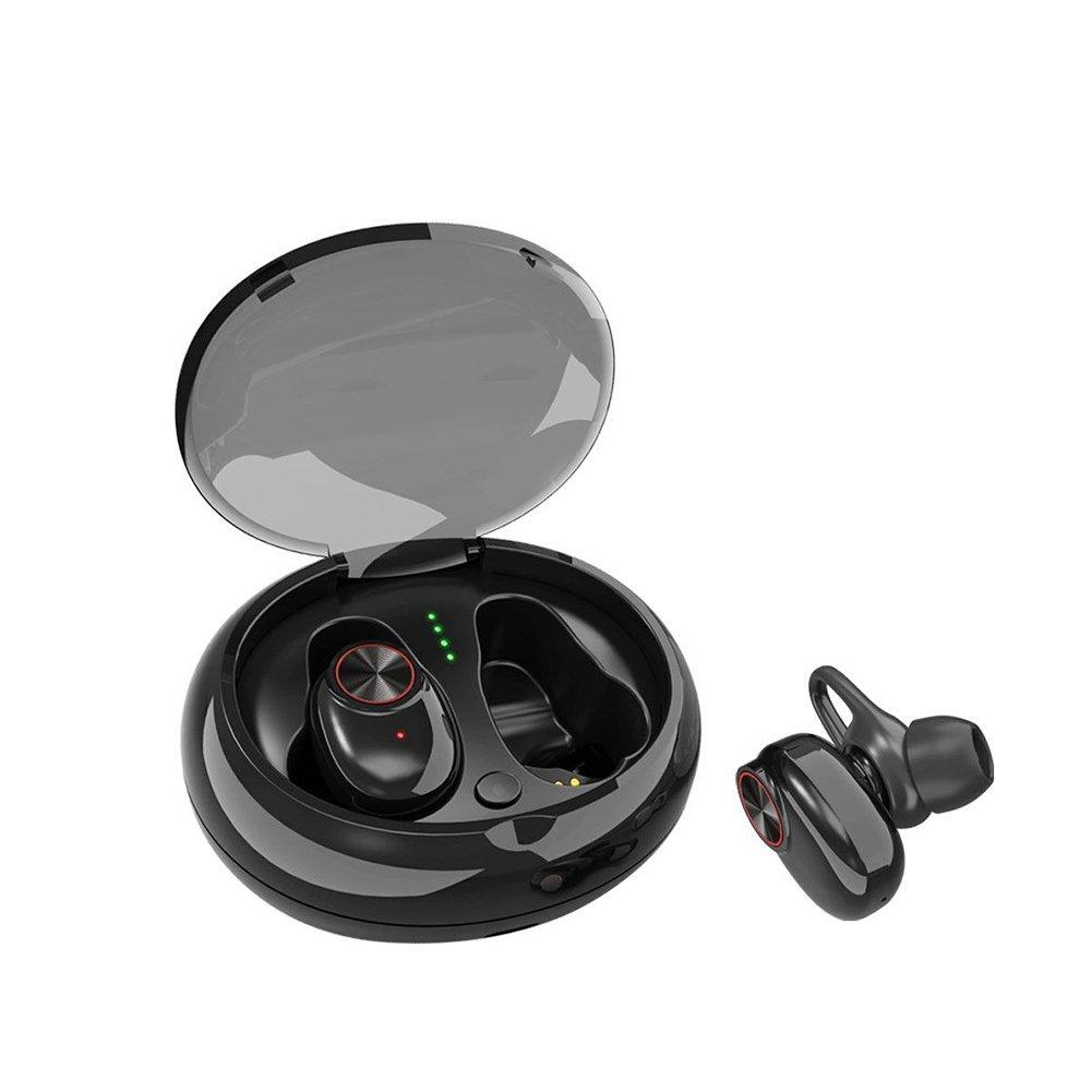 OUYAWEI TWS Wireless Sports Bluetooth 5.0 In-ear Stereo Dual Earplug Bluetooth Headset black