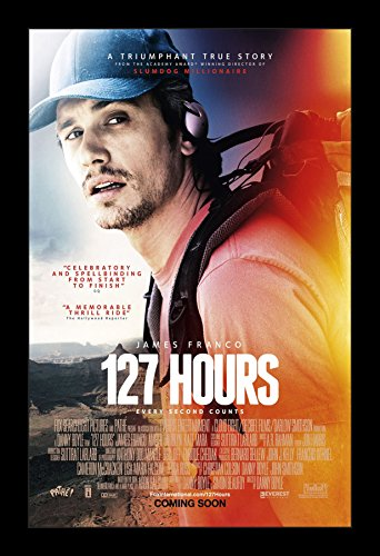 127 Hours - 11x17 Framed Movie Poster by Wallspace