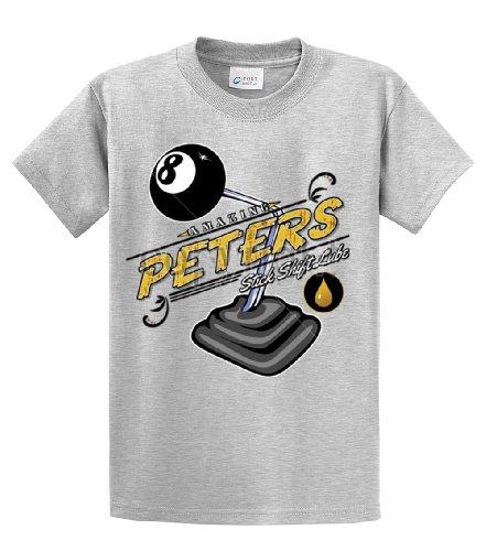 - Hot Rod T-Shirt Amazing Peter's Stick Shift Lube-Lightgrey-4Xl