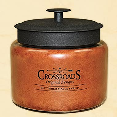 Crossroads  Buttered Maple Syrup  Scented Multi-Wick Candle, 64oz