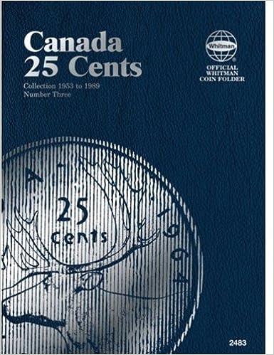 WHITMAN COIN FOLDER # 2483 CANADA 25 CENTS