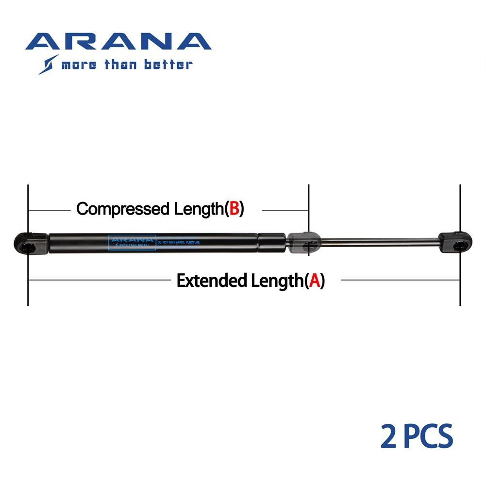 ARANA Liftgate Lift Supports//Gas Charged Rear Hatch Struts for 2003-2014 Volvo XC90 Qty 2 SG315018