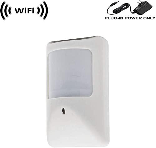 WF-450A 1080p IMX323 Sony Chip Super Low Light Spy Camera with WiFi Digital IP Signal, Recording Remote Internet Access, Camera Hidden in a Compact PIR Motion Detector Housing