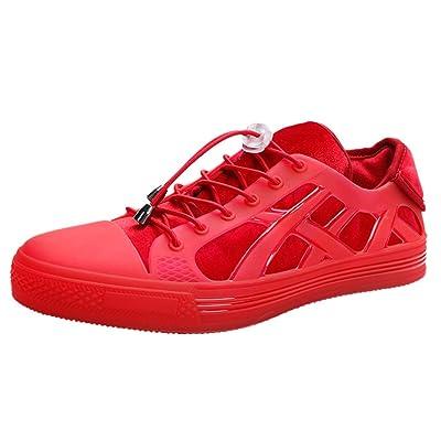 ZARLLE Personalidad Zapatos Casuales Moda Zapatos Deportivos,Sneakers para Caminar,Zapatos de Cordones para Mujer,Calzado Deportivo de Interior: Ropa y accesorios