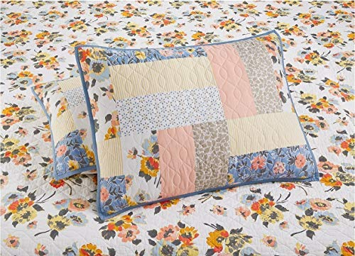 Martha Stewart Collection Fair Breeze Reversible Quilted Standard Sham