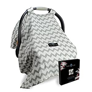 Armful Of Love  Wind-Proof Design Baby Car Seat Covers with ebook
