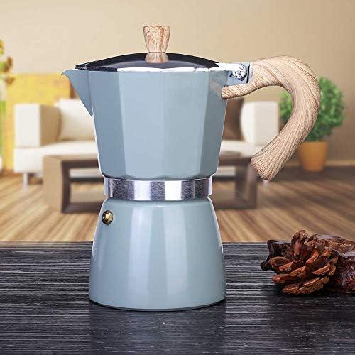 Espresso Moka Stovetop Pots Portable Accueil Cuisine Aluminium Style Italian Espresso Cafetière Percolat Stove Top Pot Kettle